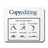 Copy editor yoga Classic Mousepad