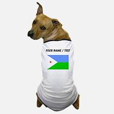 Custom Djibouti Flag Dog T-Shirt