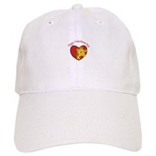 Happy Valentines Day Baseball Baseball Cap