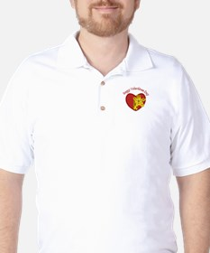 Happy Valentines Day Golf Shirt