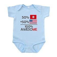 Half Tunisian Half American Body Suit