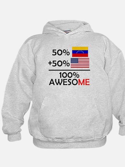 Half Venezuela Half American Hoodie