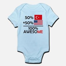 Half Turkish Half American Body Suit