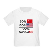 Half Turkish Half American T-Shirt