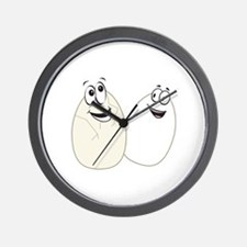 Two Eggs Wall Clock