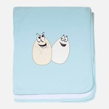Two Eggs baby blanket