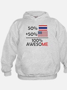 Half Thai Half American Hoodie