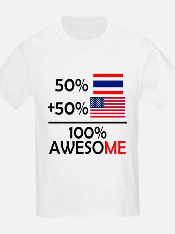 Half Thai Half American T-Shirt