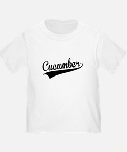 Cucumber, Retro, T-Shirt