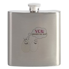 YOU CRACK ME UP! Flask