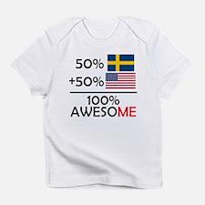 Half Swedish Half American Infant T-Shirt