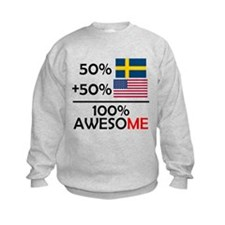 Half Swedish Half American Sweatshirt