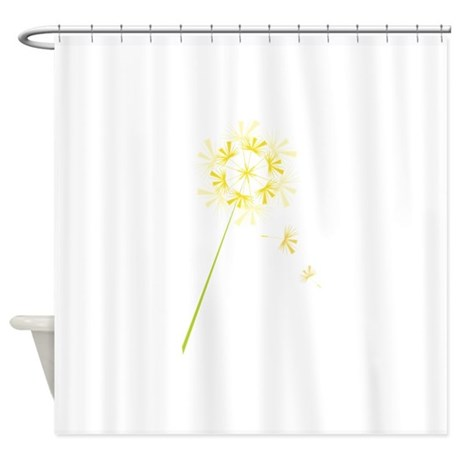 dandelion shower curtain by concord8