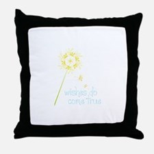 Wishes fo come true Throw Pillow