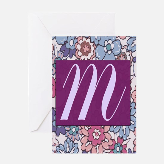 BACKGROUND FLOWER Greeting Cards