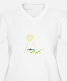 make a wish Plus Size T-Shirt
