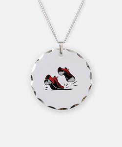 Tap Dancing Shoes Necklace