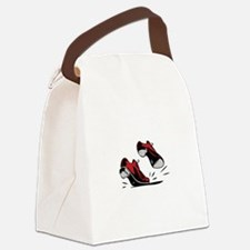Tap Dancing Shoes Canvas Lunch Bag