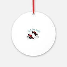 feet the magic Ornament (Round)
