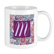 Background Flower Mugs