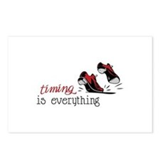 timing is everything Postcards (Package of 8)