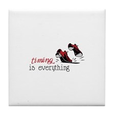 timing is everything Tile Coaster