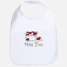 Miss You Bib