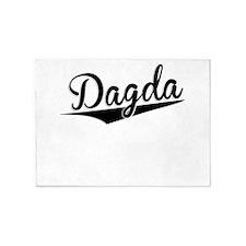 Dagda, Retro, 5'x7'Area Rug