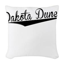 Dakota Dunes, Retro, Woven Throw Pillow