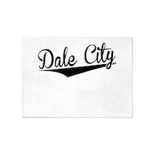 Dale City, Retro, 5'x7'Area Rug