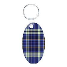 Blueberry Muffin Plaid Keychains