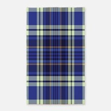 Blueberry Muffin Plaid 3'x5' Area Rug