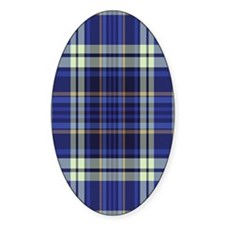 Blueberry Muffin Plaid Decal