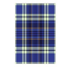Blueberry Muffin Plaid Postcards (Package of 8)