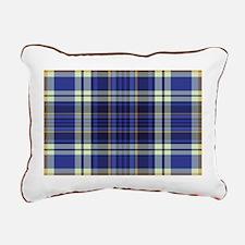 Blueberry Muffin Plaid Rectangular Canvas Pillow