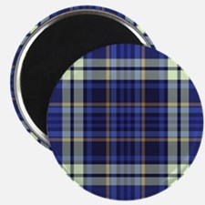 Blueberry Muffin Plaid Magnet