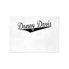 Danny Davis, Retro, 5'x7'Area Rug