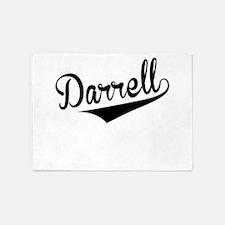 Darrell, Retro, 5'x7'Area Rug