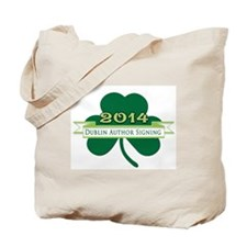 Dublin Author Signing Logo Tote Bag