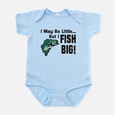 I Fish Big! Infant Bodysuit