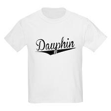 Dauphin, Retro, T-Shirt
