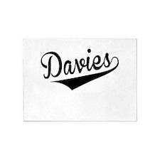 Davies, Retro, 5'x7'Area Rug