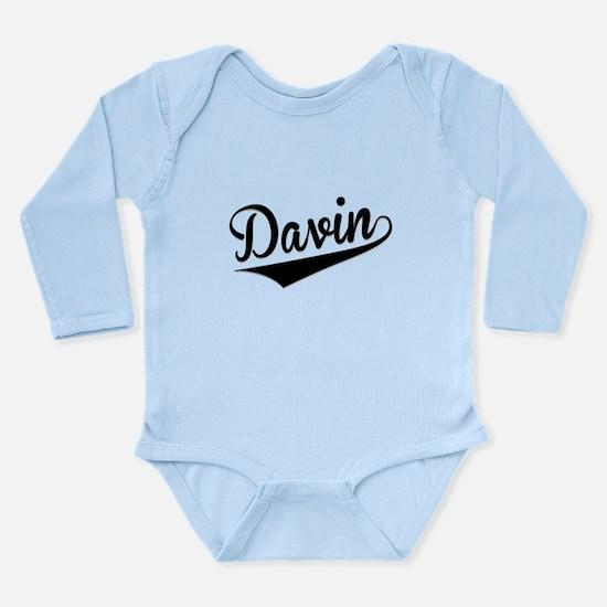 Davin, Retro, Body Suit