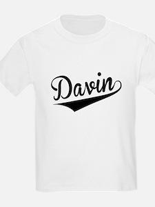Davin, Retro, T-Shirt