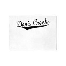 Davis Creek, Retro, 5'x7'Area Rug