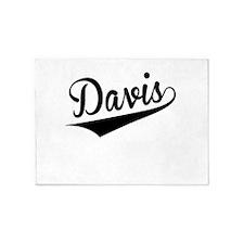 Davis, Retro, 5'x7'Area Rug