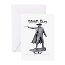 Wyatt Earp Greeting Cards (Pk of 10)