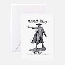 Wyatt Earp Greeting Cards (Pk of 10)