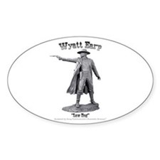 Wyatt Earp Oval Decal
