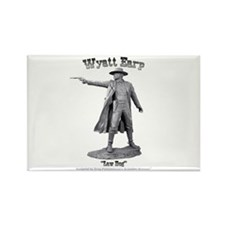 Wyatt Earp Rectangle Magnet